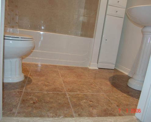 who does bathroom remodeling