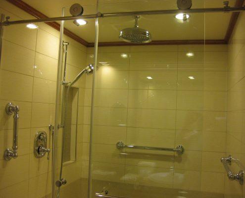 sauna door latch